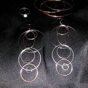 Two-Tone Vintage Jewelry Set